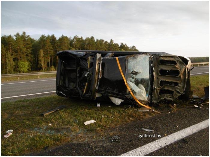 Пьяный водитель врезался в автомобиль МАЗ