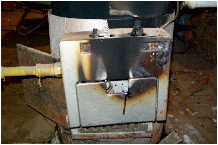 Угарный газ. Газовый котел