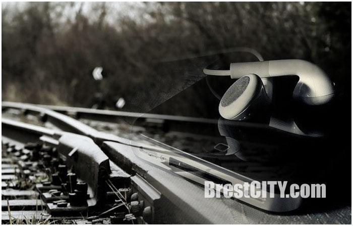 Поезд переехал парня в наушниках. Фото BrestCITY.com
