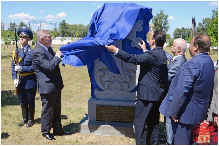 В Бресте открыли хачкар воинам-армянам