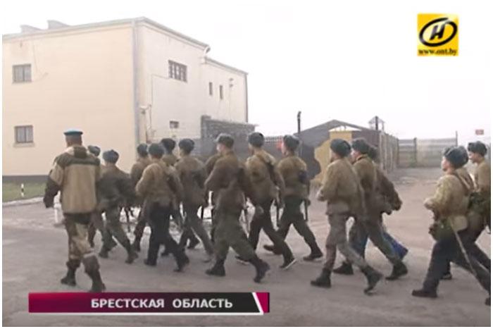Кадеты из 35-й школы на военно-полевых сборах в 38-й бригаде
