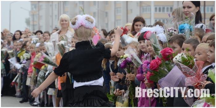 Школьные каникулы. Звонок. Фото BrestCITY.com