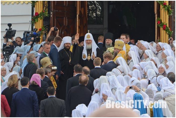 Патриарх Кирилл в Бресте