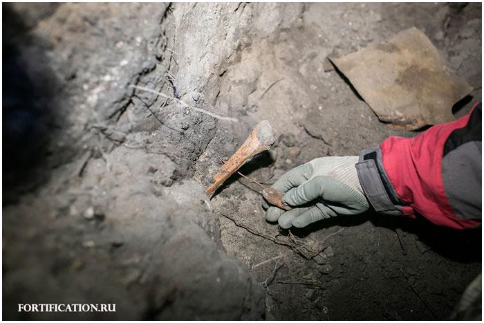 В Брестской крепости найдены останки человека
