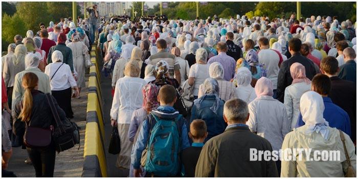 Крестный ход в Бресте 18 сентября 2015