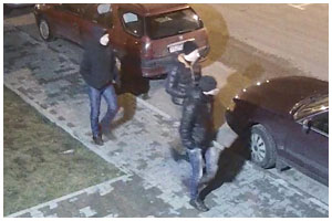 Разыскиваются трое молодых людей причастных к краже
