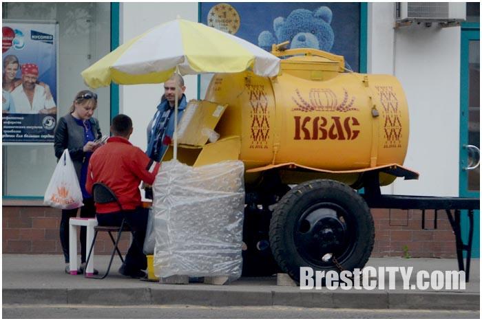 Продажа бочкового кваса в Бресте