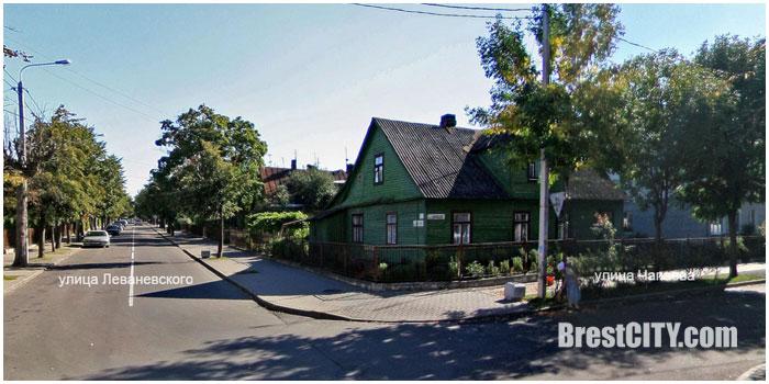 Новые дома на улице Леваневского в Бресте