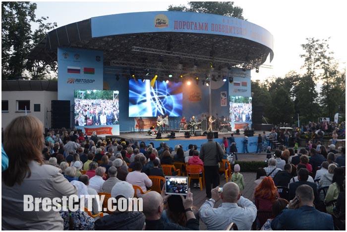 Концерт группы ЛЮБЭ в Бресте