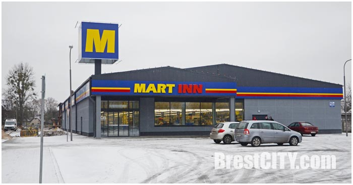Магазин MART INN на улице Пушкинской в Бресте