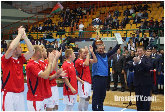 Итоги соревнований по минифутболу в Бресте 2015