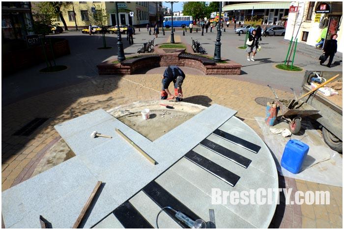 В Бресте делают площадку для уличных музыкантов