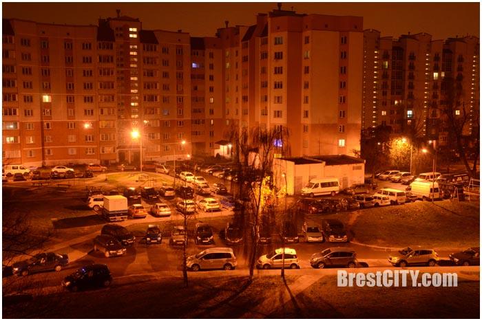 Отключение света в Бресте. Пример. Фото BrestCITY.com