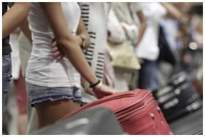 Досмотр багажа на границе