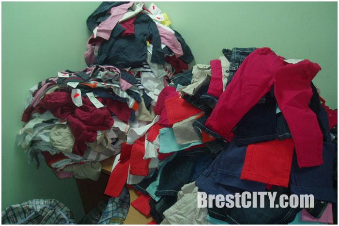 Попытка провоза через границу одежды