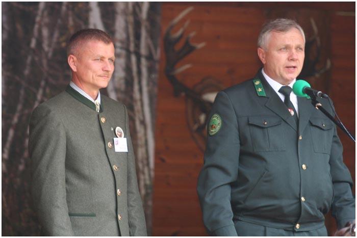 Соревнования вабильщиков оленей прошел в Беловежской пуще