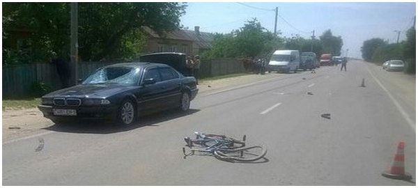 В деревне Ольшаны насмерть сбили велосипедиста
