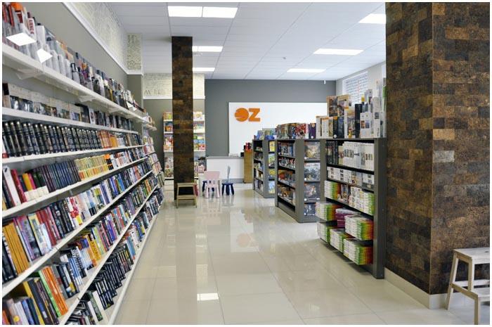 Книжный магазин Оз бай в Бресте