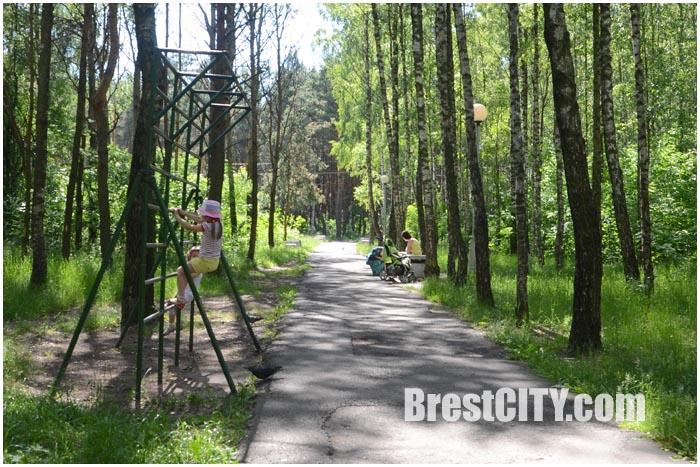 Парк воинов-интернационалистов в Бресте