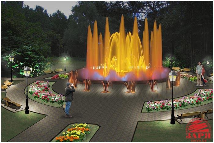 Проект реконструкции парка воинов-интернационалистов в Бресте
