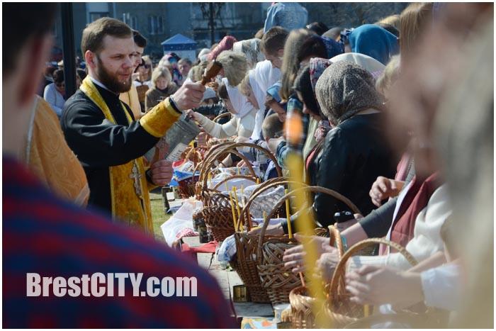 Православные брестчане готовятся к Пасхе