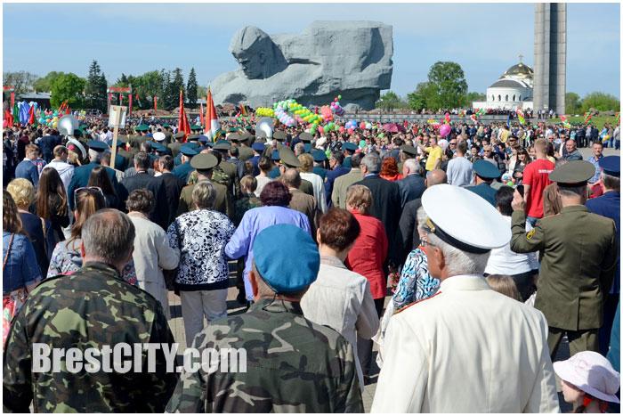 День победы в Бресте и Брестской крепости 9 мая 2014