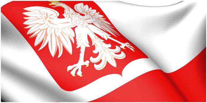 Герб и флаг республики Польша