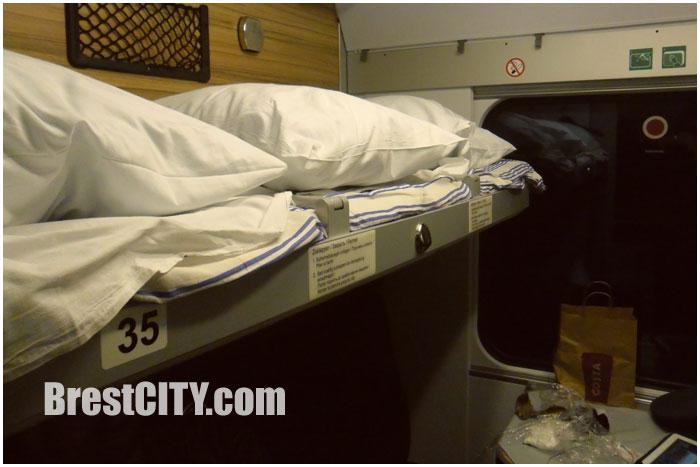 Подозрительный порошок нашли пограничники в подушке пассажира поезда