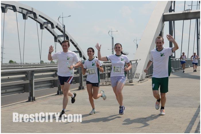 10 легкоатлетический пробег из Тересполя в Брест Дружба