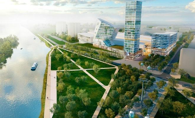 Чешский проект города Бреста