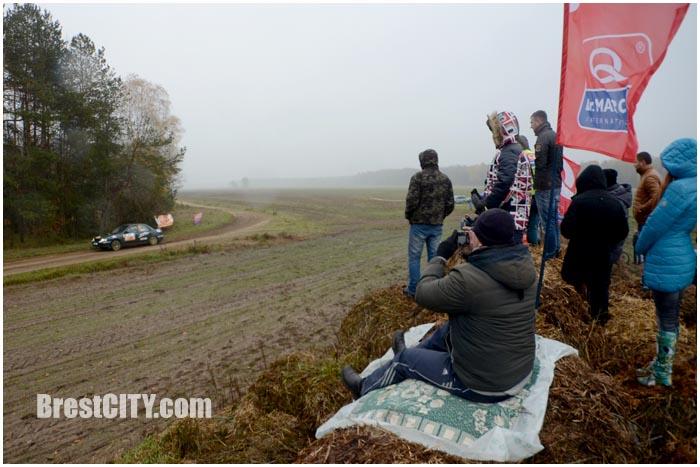 Ралли-спринт в Бресте 7 ноября 2015. Фото BrestCITY.com