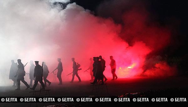 Митинг-реквием в Брестской крепости 22 июня 2015