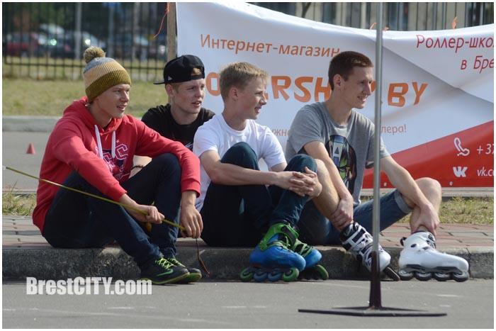 Соревнования на роликах в Бресте 13 сентября 2015