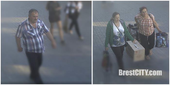 Брестская милиция разыскивает мужчину и двух женщин