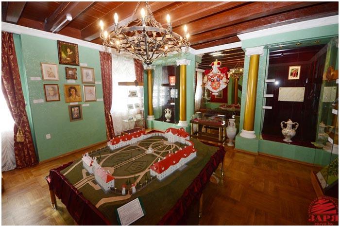Ружанский дворец Сапегов