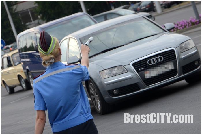 СКМ ГАИ Внимание дети перед началом учебного года. Фото BrestCITY.com