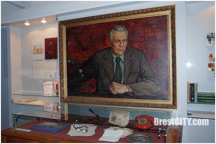 Писатель Сергей Смирнов. Музей в Брестской крепости