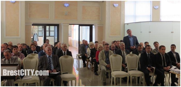 Совет директоров Московского района Бреста