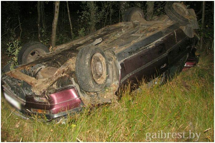 Авария в Столинском районе. Погиб водитель