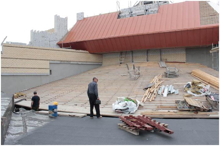 Стройка кукольного театра в Бресте