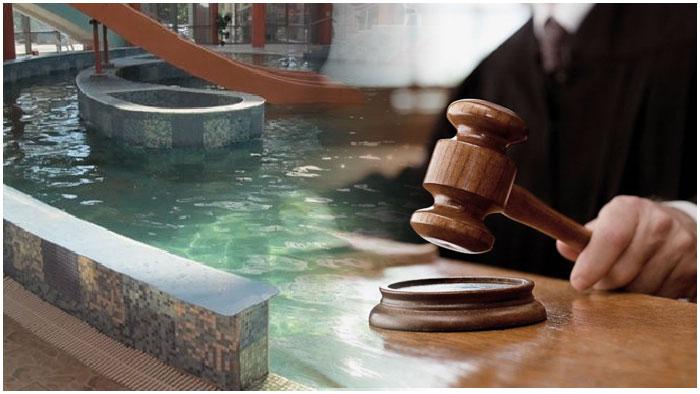 Аквапарк в Кобрине. Суд