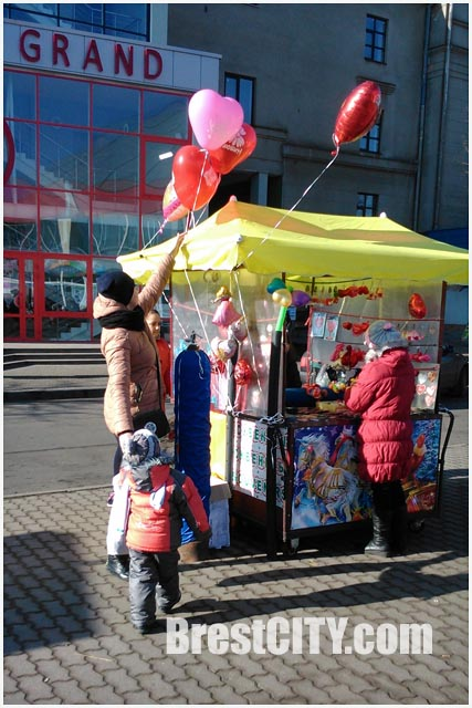 День Святого Валентина в Бресте