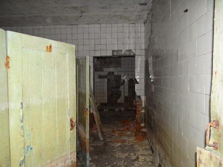 Подземный туадет в Брестской крепости