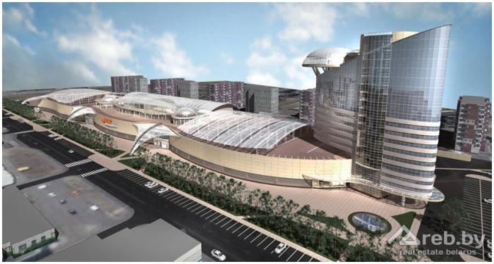 Торгово-развлекательный комплекс на Гаврилова в Бресте. Фото BrestCITY.com