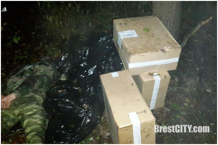 Украинец - контрабандист. Сигареты