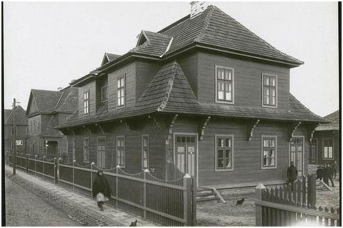 Колония Варбурга в Бресте. Старое фото