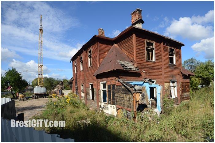 Жилой квартал на месте колонии Варбурга в Бресте. Фото BrestCITY.com