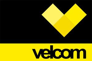 Логотип компании Велком в Беларуси. Мобильный оператор
