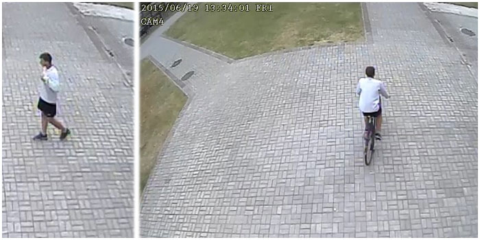 В Бресте разыскивается похититель велосипеда