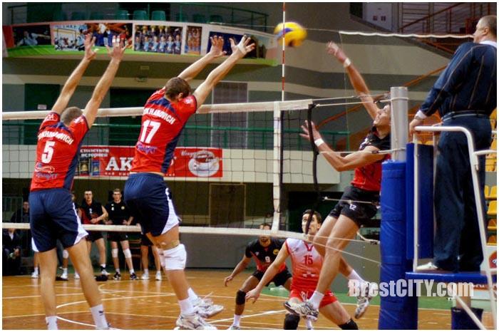 Соревнования по волейболу в Бресте